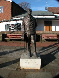 Statue of Sir Arthur Conan Doyle