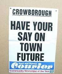 Crowborough Healthcheck - Have your say on town future